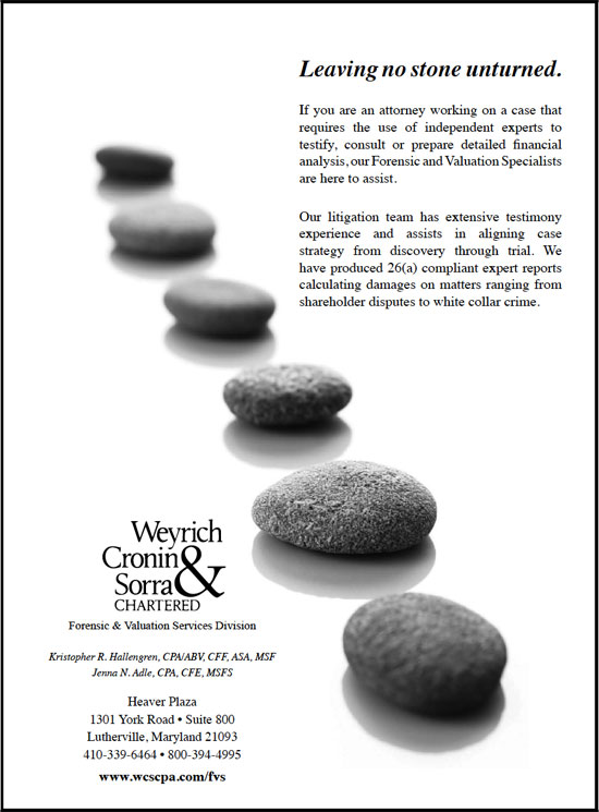 Click to visit the Weyrich Cronin & Sorra Chartered web site.